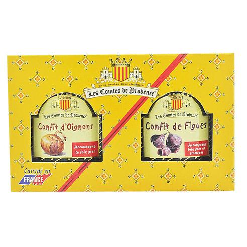Duo confit culinaires (Oignons et Figues)