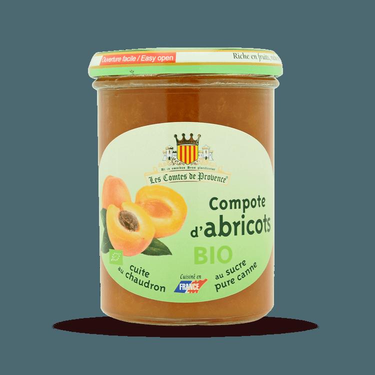 Compote d'Abricots BIO