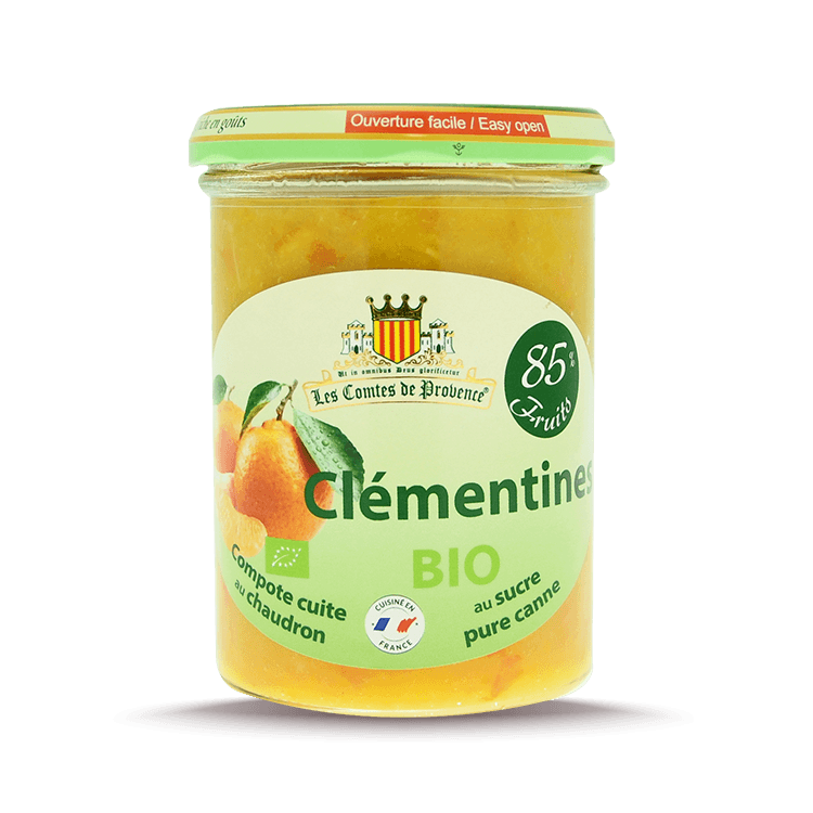 Compote de Clémentines BIO 85%