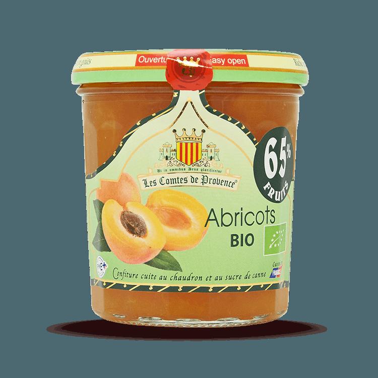 Confiture d'Abricots BIO 65%