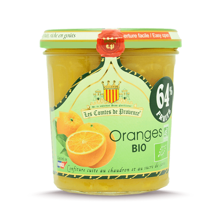 Confiture d'Oranges BIO