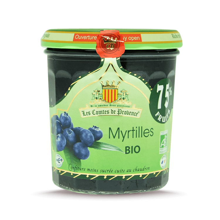 Confiture de Myrtilles 75%