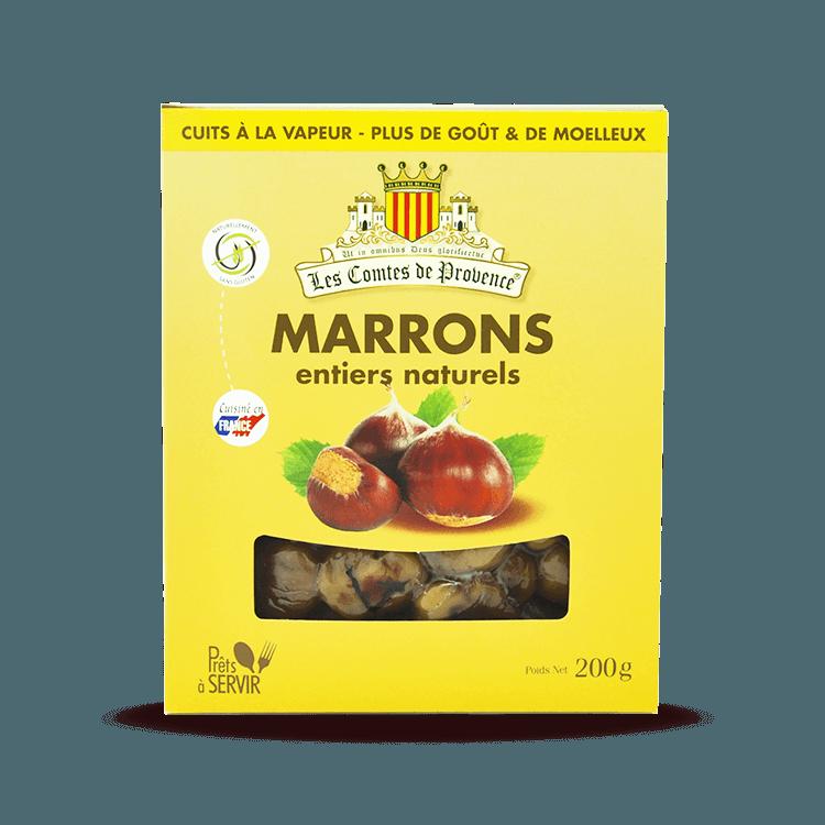 Marrons entiers Naturels 200g