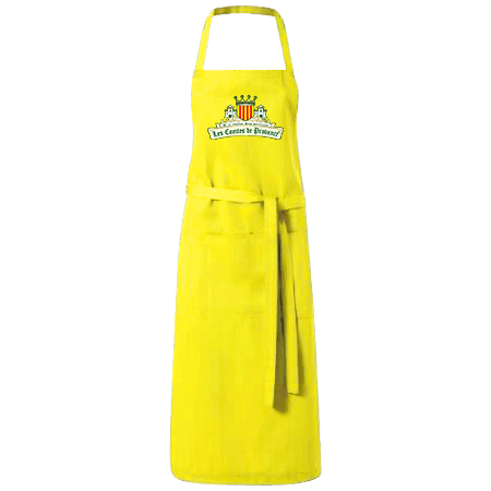 Tablier Citron jaune logo CT