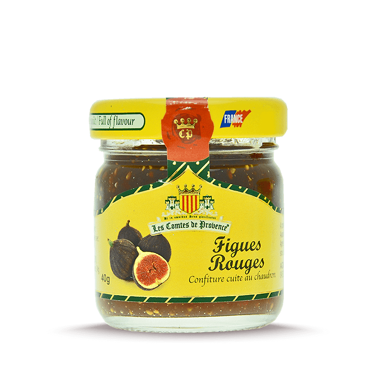 Confiture de Figues rouges 40g