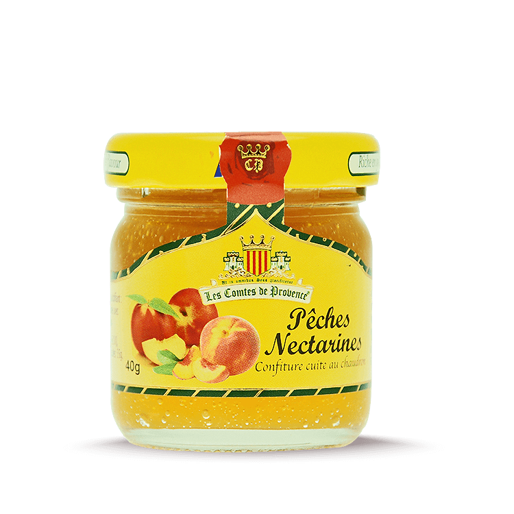 Confiture de Pêches Nectarines 40g