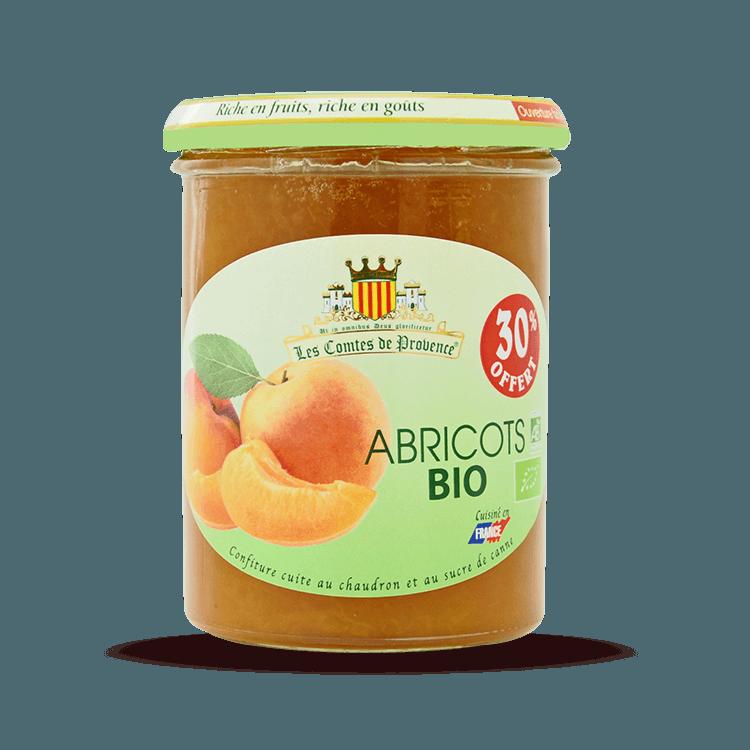 Confiture d'Abricots BIO 455g