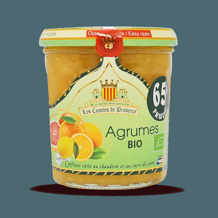 Confiture d'Agrumes BIO