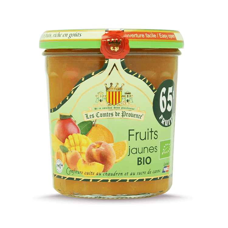 Confiture de Fruits jaunes BIO