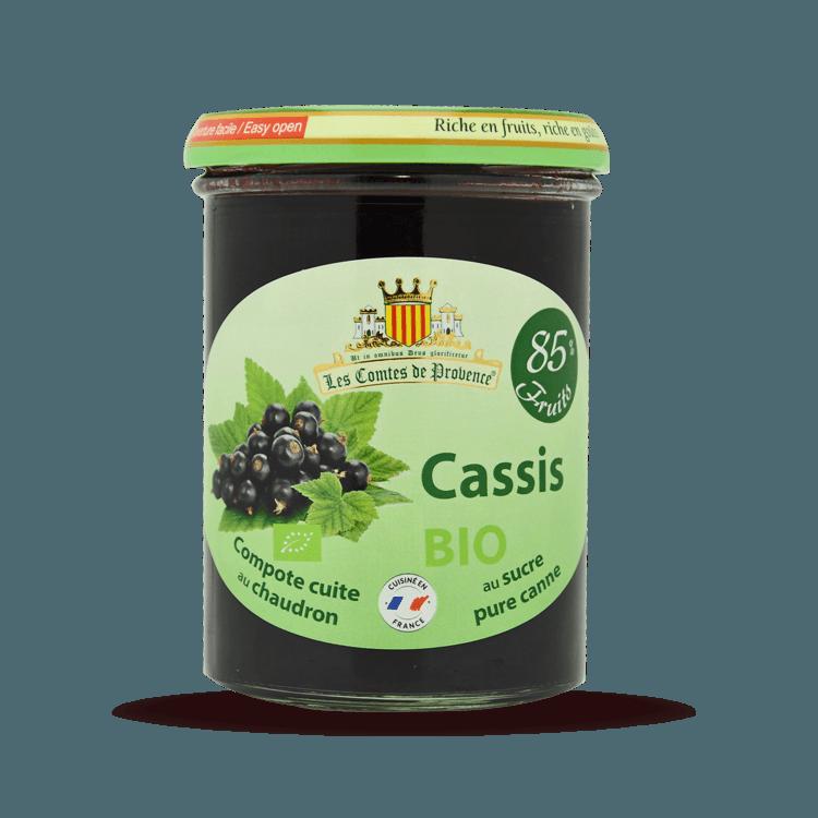 Compote de Cassis BIO