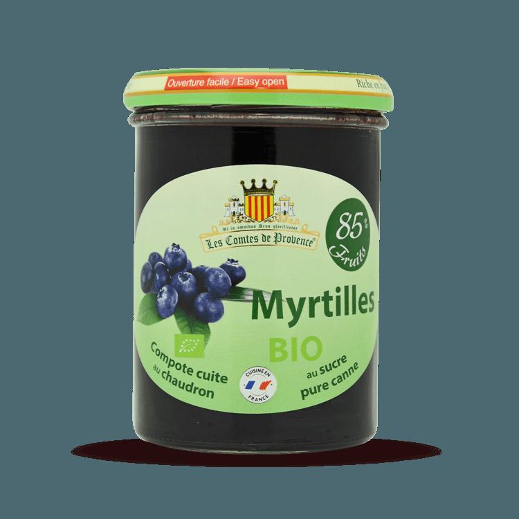 Compote de Myrtilles BIO