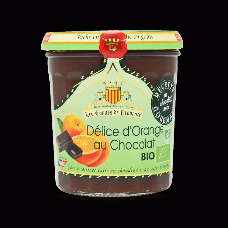 Délice d'Oranges au Chocolat BIO